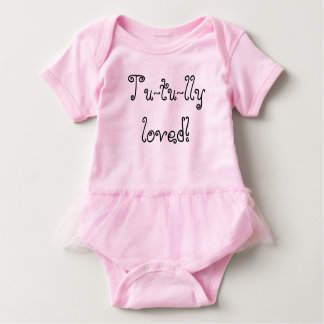 Tu-tu-lly geliebt! baby strampler
