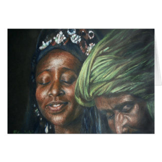 Tuareg-Paare Karte
