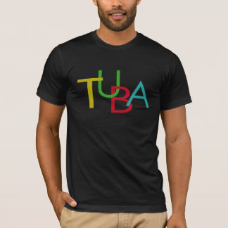 TUBA Buchstaben T-Shirt