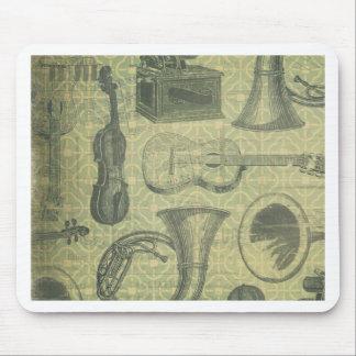 Tuba-Grammophon Mauspads