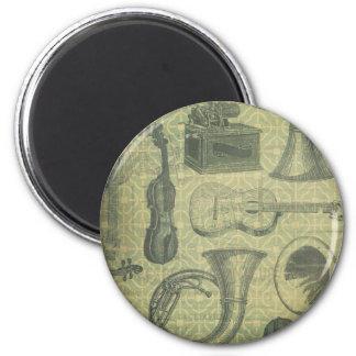 Tuba-Grammophon Runder Magnet 5,1 Cm