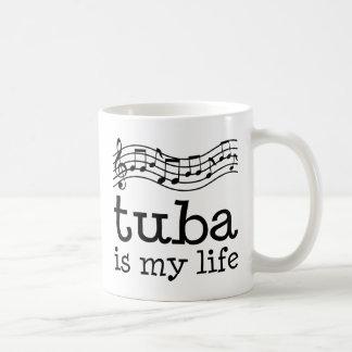 Tuba ist mein Leben Kaffeetasse