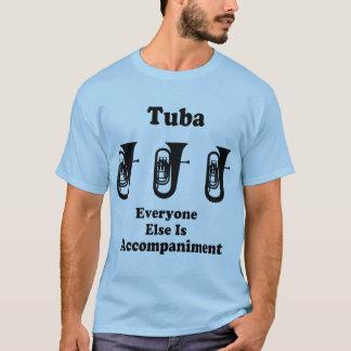 Tuba-Musik-Zitat-Blaskapelle-T-Stück T-Shirt