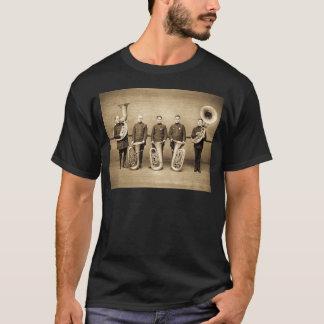 Tuba-Polizisten (Sepia) T-Shirt