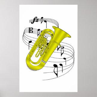 Tuba Posterdrucke