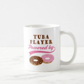 Tuba-Spieler-lustiges Geschenk Kaffeetasse