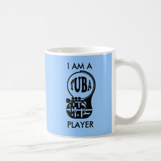 TUBA, Tuba-Spieler Kaffeetasse