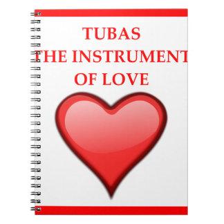 TUBAS NOTIZBLOCK