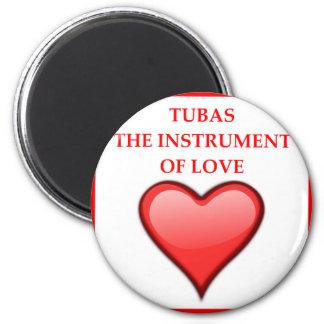 TUBAS RUNDER MAGNET 5,7 CM