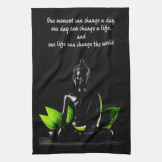 Tuch Buddha-Zitats 2 Hand