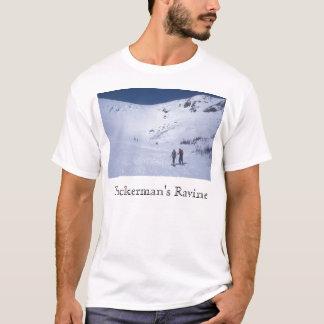 Tuckermans Schlucht Skiiers Berg Washington T-Shirt