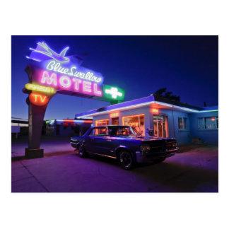 Tucumcari, New Mexiko, Vereinigte Staaten. Weg 66  Postkarte