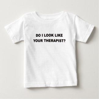 TUE ICH AUSSEHE WIE IHR THERAPIST.png Baby T-shirt