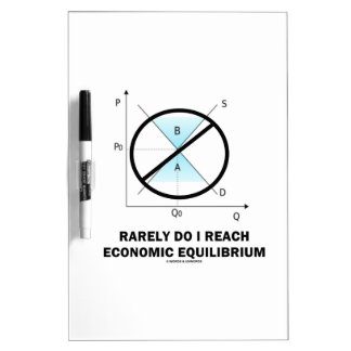 Tue selten ich erreiche Wirtschaftsgleichgewicht Trockenlöschtafel