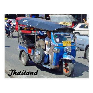 Tuk Tuk Thailand Postkarte
