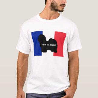tulear Siloname Frankreich flag.png Baumwolldes T-Shirt