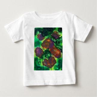Tulipes Pourpres Dans le Feuillage Baby T-shirt