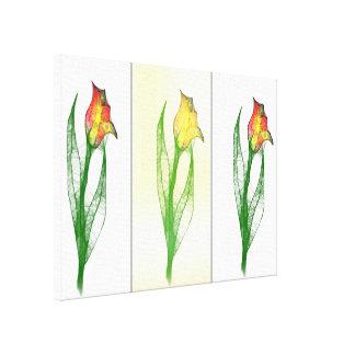 Tulips Gespannter Galeriedruck