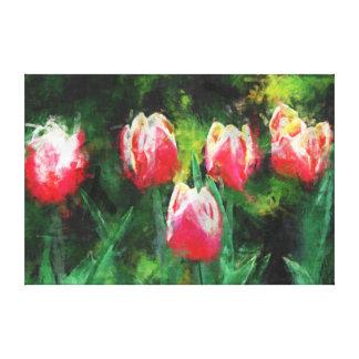 Tulips Leinwanddruck