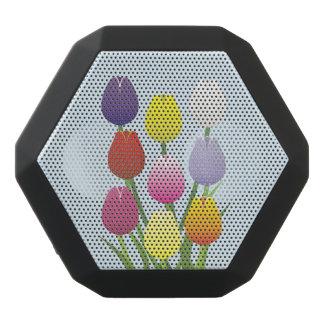 Tulpe-Blume Schwarze Bluetooth Lautsprecher