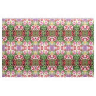 Tulpe-Blumen-Natur-Gewebe für Handwerk und Stoff