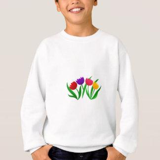 Tulpe-Blüte Sweatshirt
