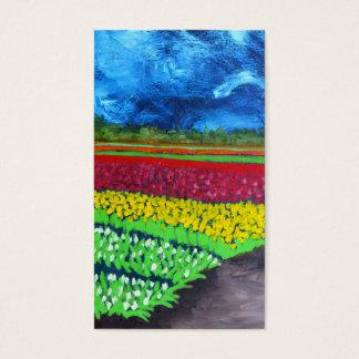 Tulpe-Feld: Holland Visitenkarte