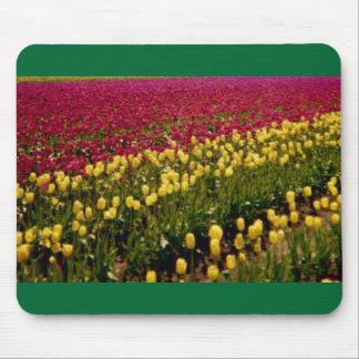 Tulpe-Feld Mousepad