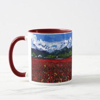 Tulpe-Feld Tasse