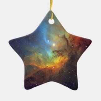Tulpe-Nebelfleck SH2-101 die NASA Keramik Ornament