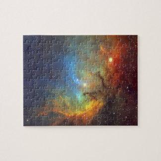Tulpe-Nebelfleck SH2-101 die NASA Puzzle