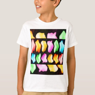 Tulpe-Show des Rosen-Blumenblatt-n T-Shirt