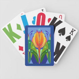 Tulip Playing Cards for Low Vision/Blindness