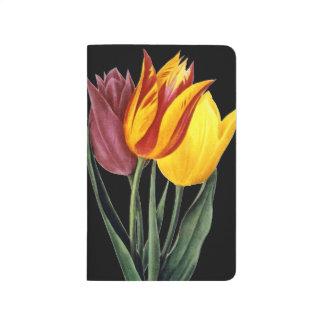 Tulpe (Tulipa Gesneriana) Taschennotizbuch