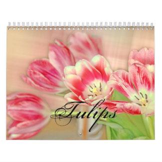 Tulpen Abreißkalender