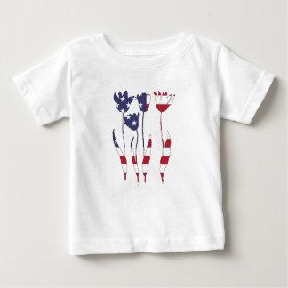 "Tulpen ""amerikanische Flagge "" Baby T-shirt"