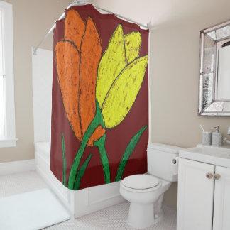 Tulpen Duschvorhang