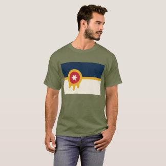 Tulsa-Flaggen-T-Stück T-Shirt