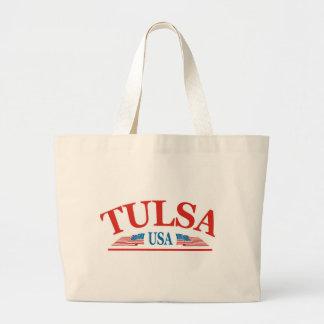 Tulsa Oklahoma USA Jumbo Stoffbeutel