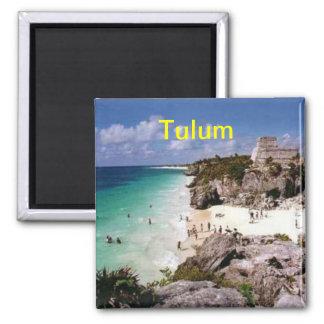 Tulum-Magnet Quadratischer Magnet