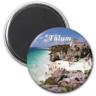 Tulum-Magnet Runder Magnet 5,1 Cm