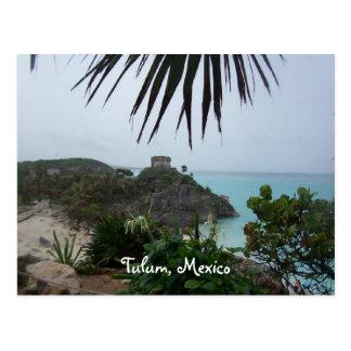 tulummexico, Tulum, Mexiko Postkarte