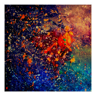 Tumultuous abstrakter | ursprünglicher poster