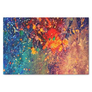 Tumultuous Party  Chic-Regenbogen-Spritzer Seidenpapier