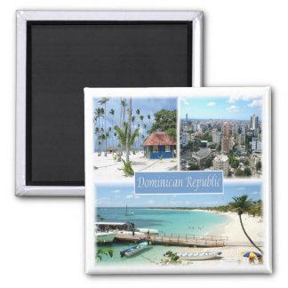 TUN * Dominikanische Republik Quadratischer Magnet