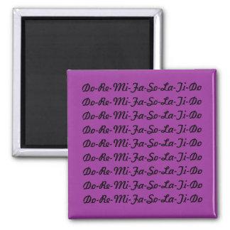 Tun Sie bezüglich MI-Fa-Magneten Quadratischer Magnet