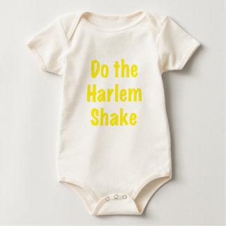 Tun Sie die Harlem-Erschütterung Baby Strampler