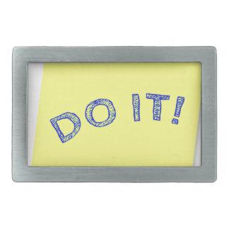 Tun Sie es! Rechteckige Gürtelschnallen
