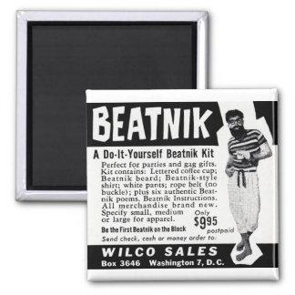 Tun Sie es sich Beatnik-Ausrüstung Quadratischer Magnet