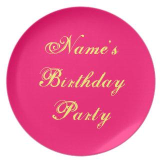 Tun Sie es sich dekorative Platte 10 Melamin Party Teller